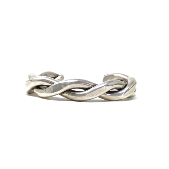 Heavy Gauge Twist Cuff Bracelet