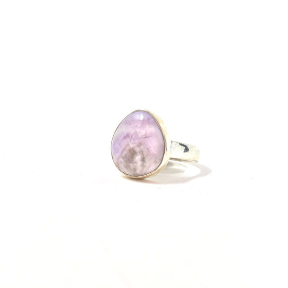 Purple Tiffany Stone Ring, size 8