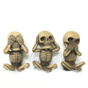 Hear No Evil, See No Evil, Speak No Evil Skeleton Set