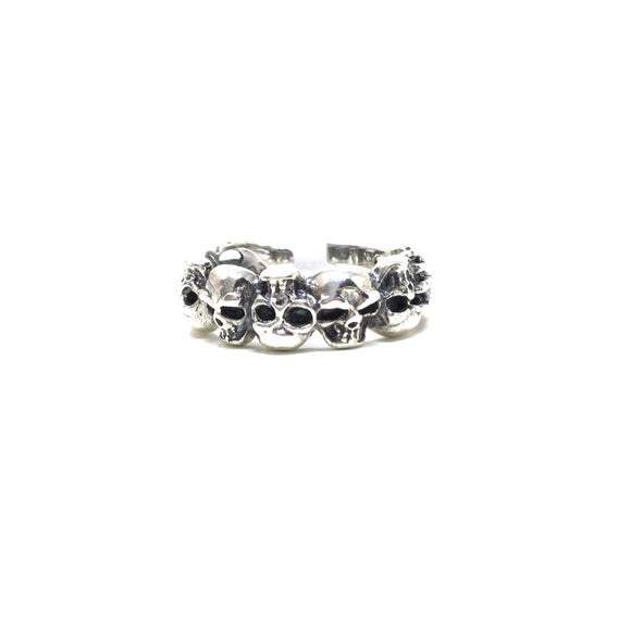 Skulls and Bones Ring, size 12