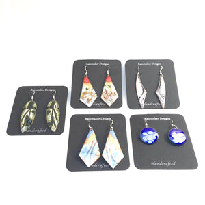 Enamel Earrings