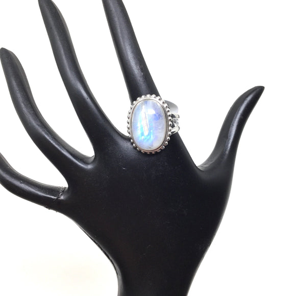 Large Moonstone Ring, size 10