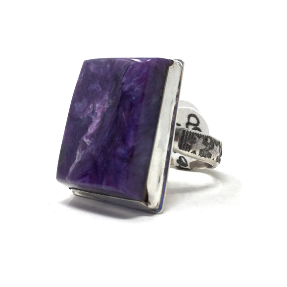 Charoite Ring, size 11
