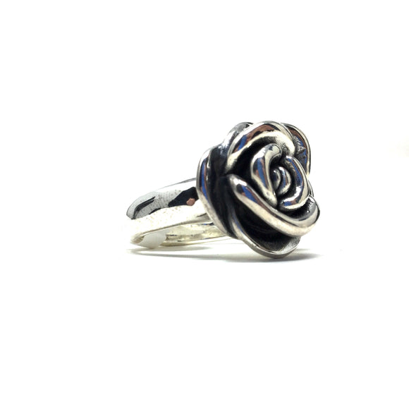 3D Rose Ring, size 9