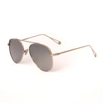 Silver With Flash Mirror Lense Single Bridge Aviator
