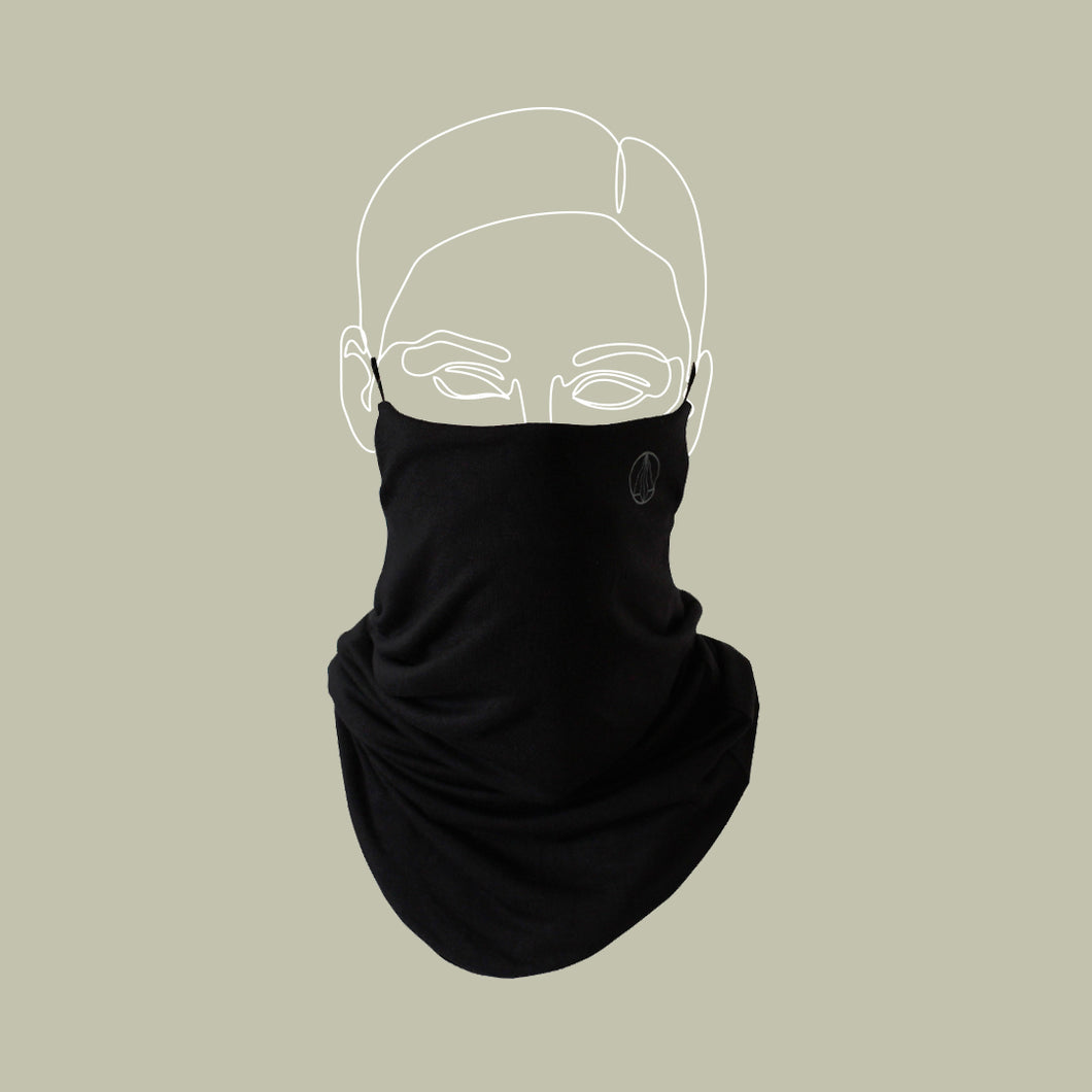 Black Wander Snood Mask