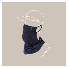 Load image into Gallery viewer, Navy Wander Snood Mask