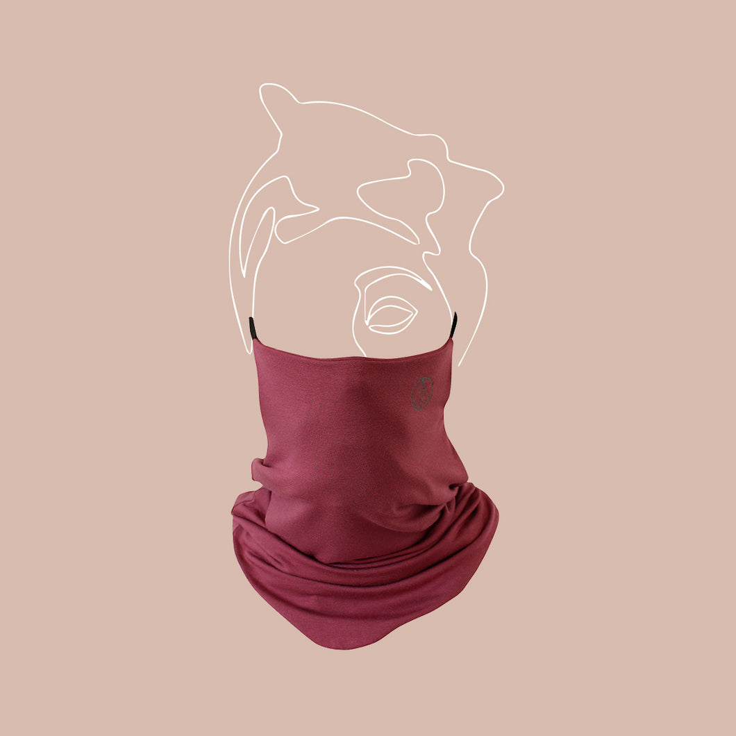 Pink Wander Snood Mask