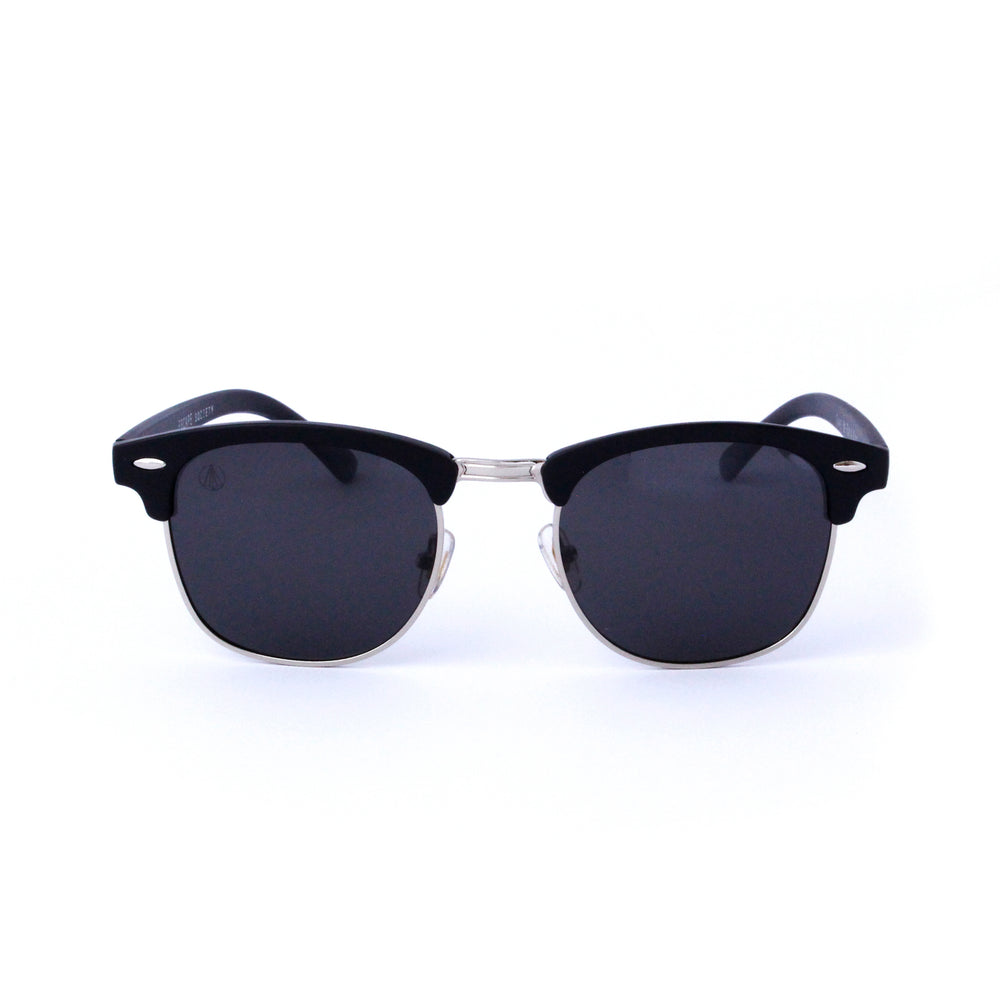 Matte Black Retro Round Lens - Escape Society