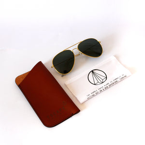 Gold Metal Aviator With Gradient Lens