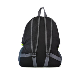 Black Outdoor Nylon Backpack - Escape Society
