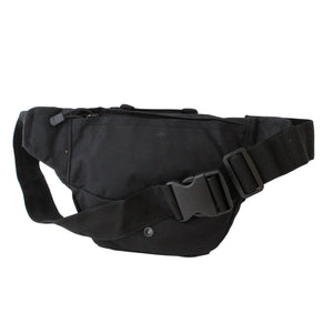 Black Utility Waist Bag - Escape Society