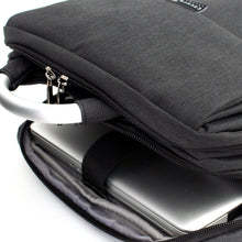 Load image into Gallery viewer, Black Double Sleeve Laptop Backpack - Escape Society