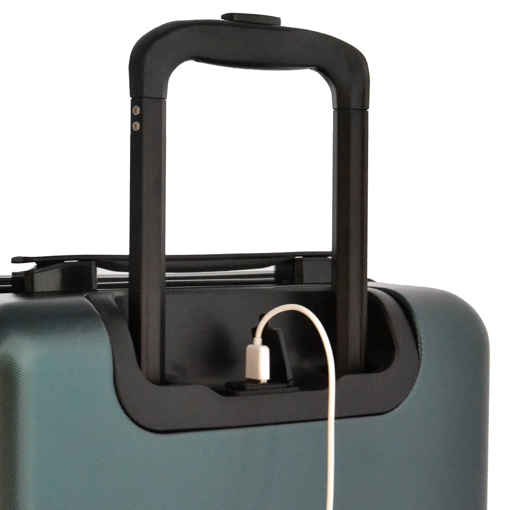 Forest Green Carry-On Suitcase