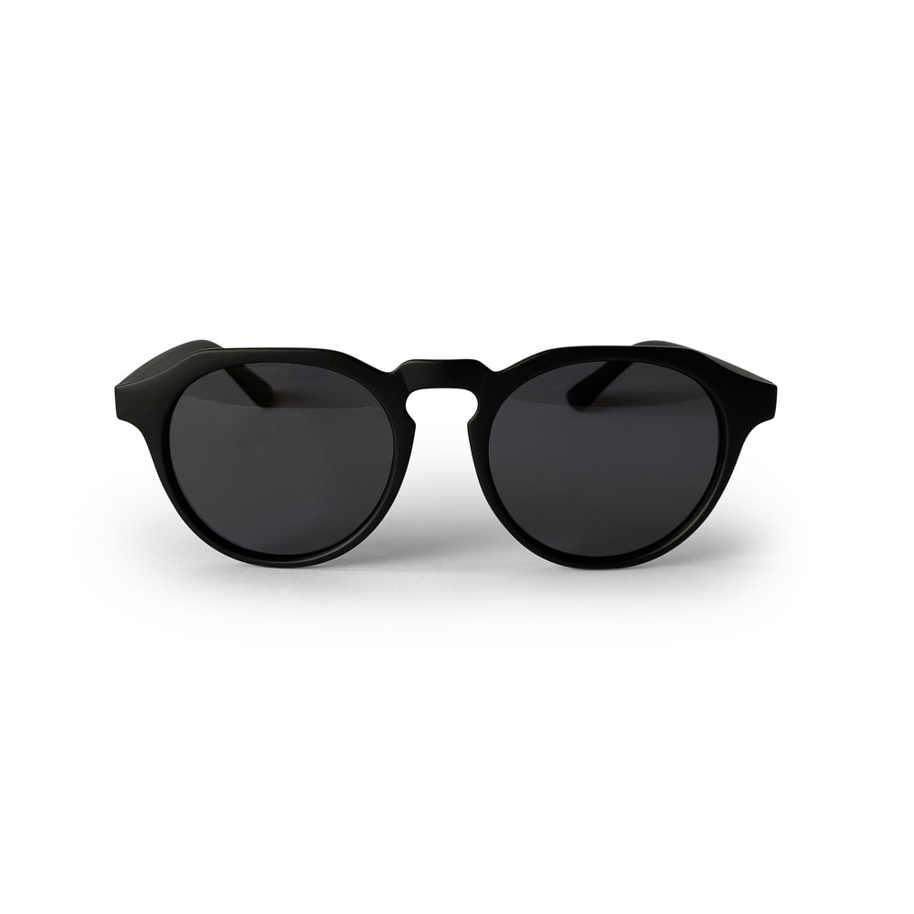Black Polarised Keyhole Round Lens - Round Sunglasses South Africa