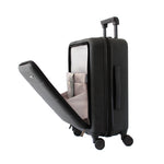 Black Carry-On with Front Loading Laptop Pocket - Escape Society