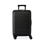 Black Carry-On with Front Loading Laptop Pocket