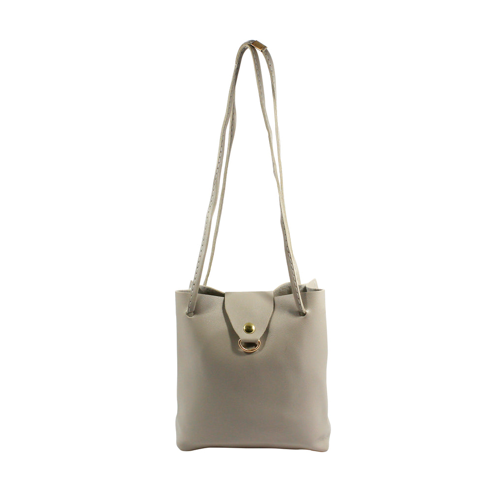 Grey Mini Crossbody Bag