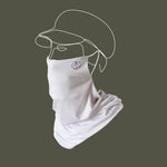 White Wander Snood Mask
