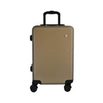 Matte Gold Carry-On Suitcase