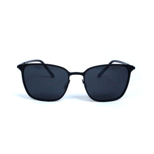Matte Black Metal Frame With Smoke Gradient Lens - Escape Society