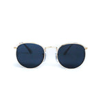 Gold Vintage Round Lens With Metal Frame - Escape Society