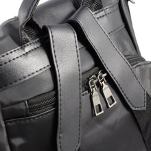 Load image into Gallery viewer, Black Anti-Theft Nylon Backpack - Escape Society