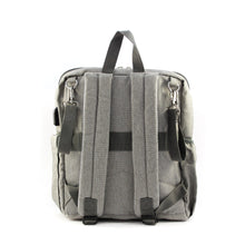 Load image into Gallery viewer, Grey Diaper Travel Backpack - Escape Society