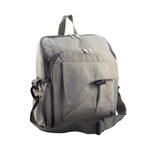 Grey Diaper Travel Backpack - Escape Society