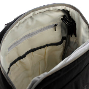 Black Diaper Travel Backpack - Escape Society