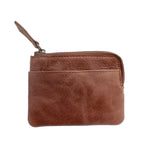 Dark Brown Coin And Card Pouch - Escape Society