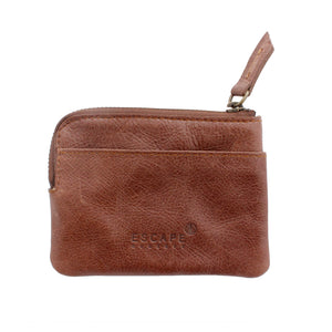 Dark Brown Coin And Card Pouch