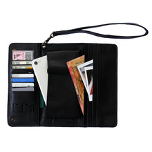 Load image into Gallery viewer, Black Conquest Travel Wallet-Escape Society
