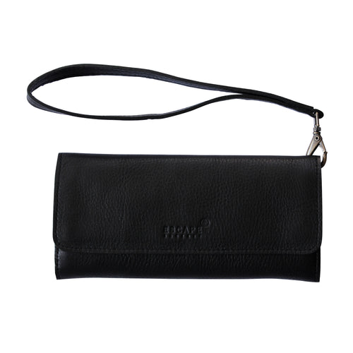 Black Conquest Travel Wallet-Escape Society