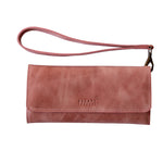 Dusty Pink Conquest Travel Wallet