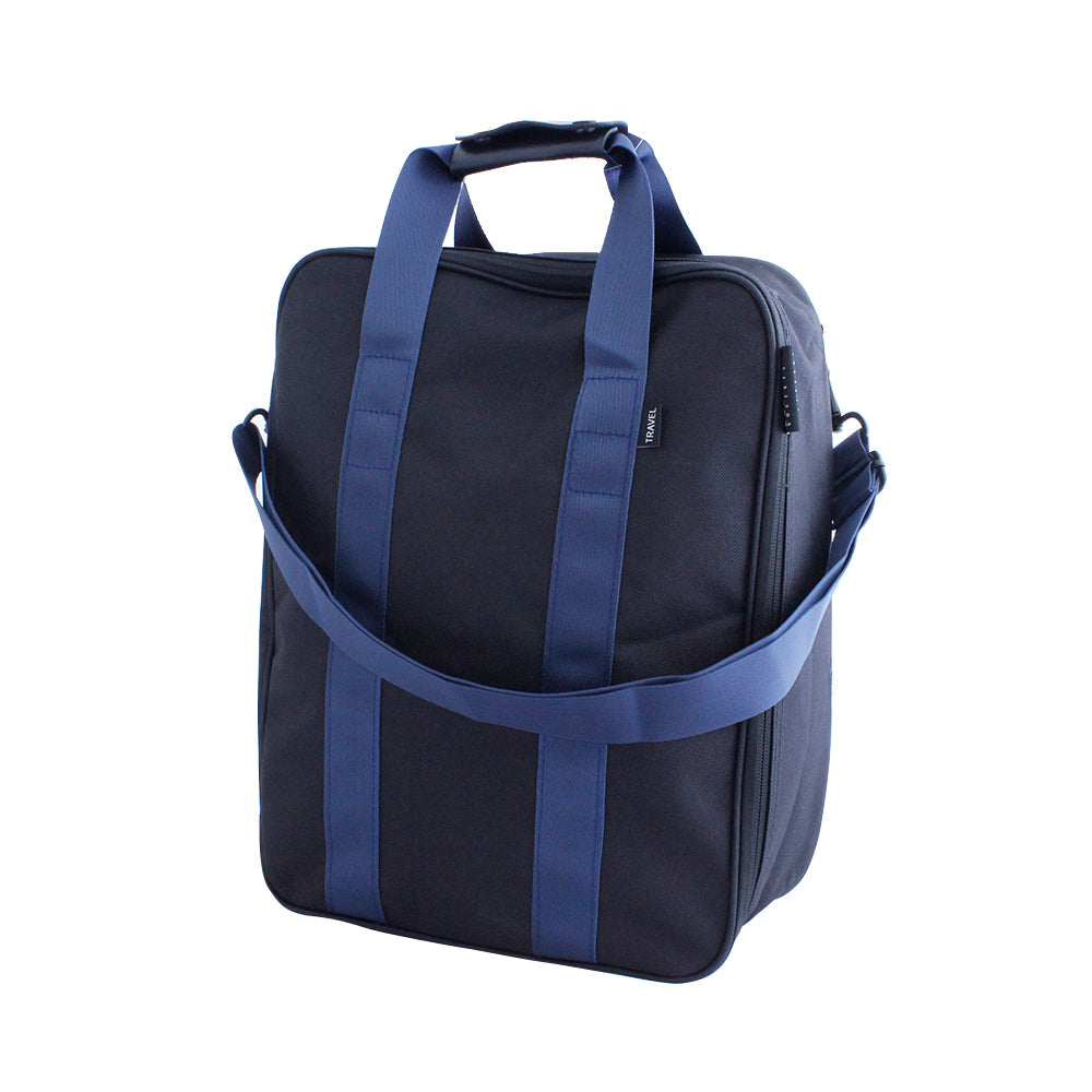 Black Travel Organiser Tote Bag