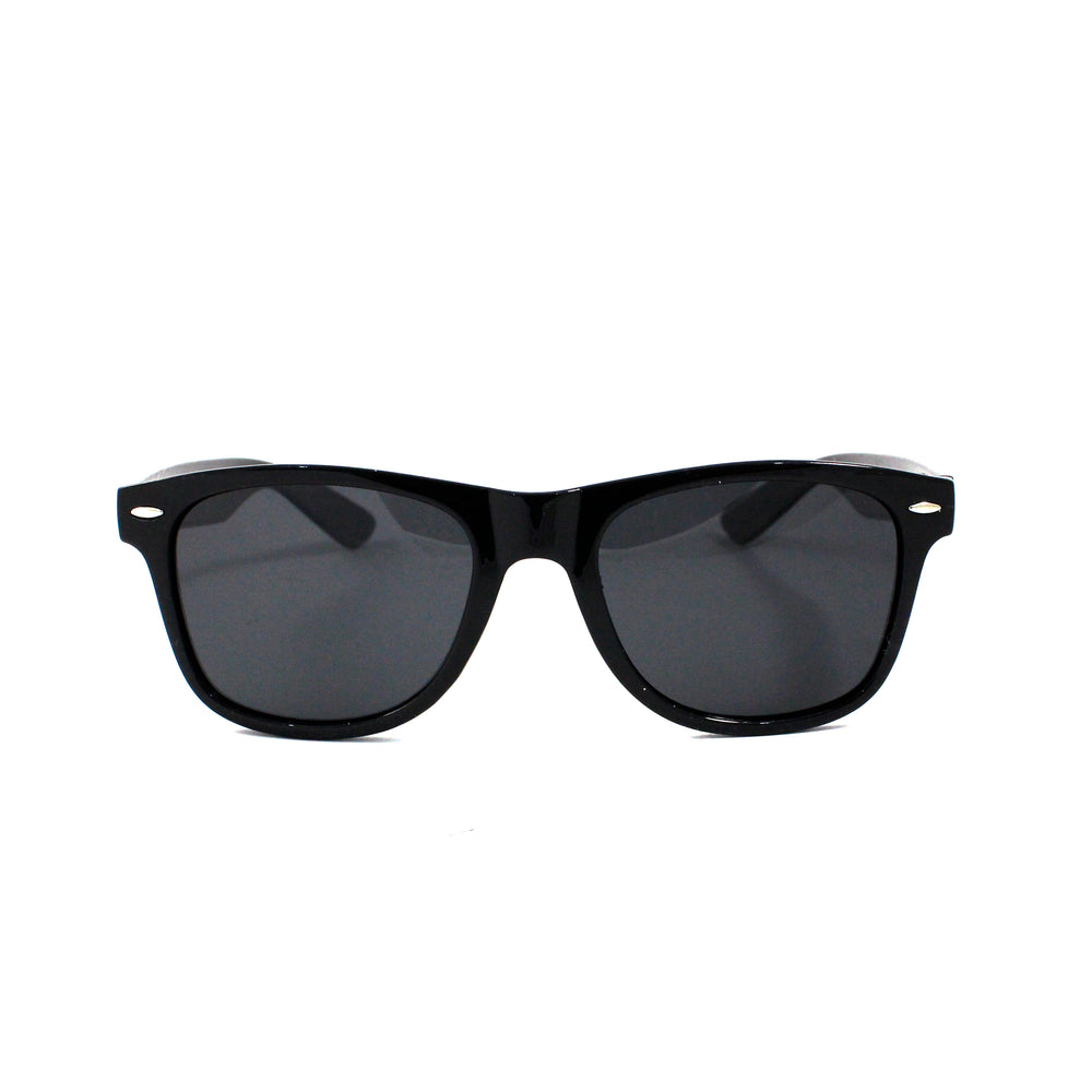 Black Squared Off Retro Sunglasses - Escape Society