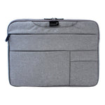 Grey 15 Inch Multi Compartment Laptop Folio