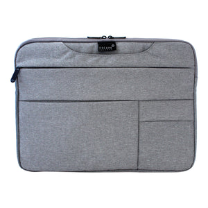 Grey 15 Inch Multi Compartment Laptop Folio - Escape Society