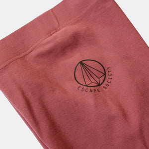 Dusty Pink Trail Luxe Legging