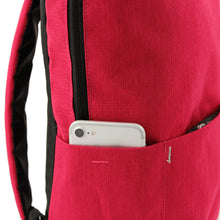 Load image into Gallery viewer, Pink Heritage Canvas Backpack - Escape Society