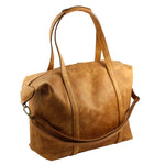 Tan Full Grain Leather Nomadic Weekender