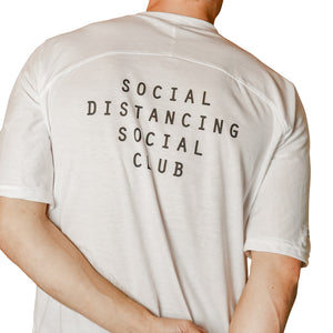 White Oversized Men's Slogan Tee