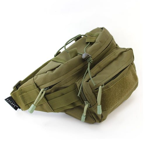 Khaki Utility Waist Bag - Escape Society
