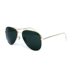 Gold Metal Aviator With Gradient Lense - Escape Society