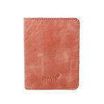 Dusty Pink Genuine Leather Passport Holder