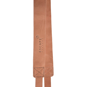 Dusty Pink Camera Genuine Leather Camera Sling - Escape Society
