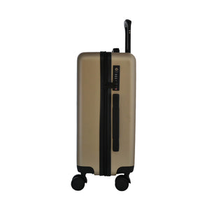 Matte Gold Carry-On Suitcase - Escape Society