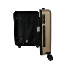 Load image into Gallery viewer, Matte Gold Carry-On Suitcase - Escape Society