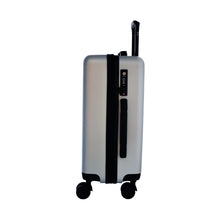 Load image into Gallery viewer, Matte Silver Carry-On Suitcase - Escape Society